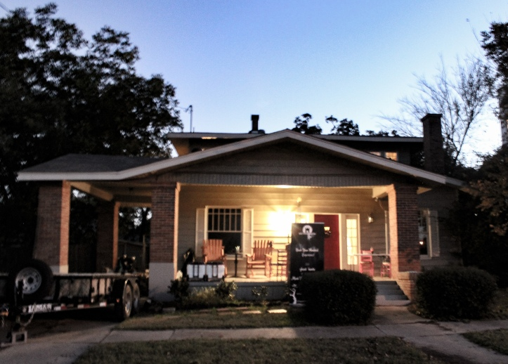 The Whispering Cottage at Mineral Wells, Texas, haunted attraction