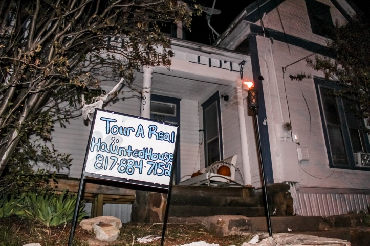 The Haunted Hill House at Mineral Wells, Texas, haunted attraction