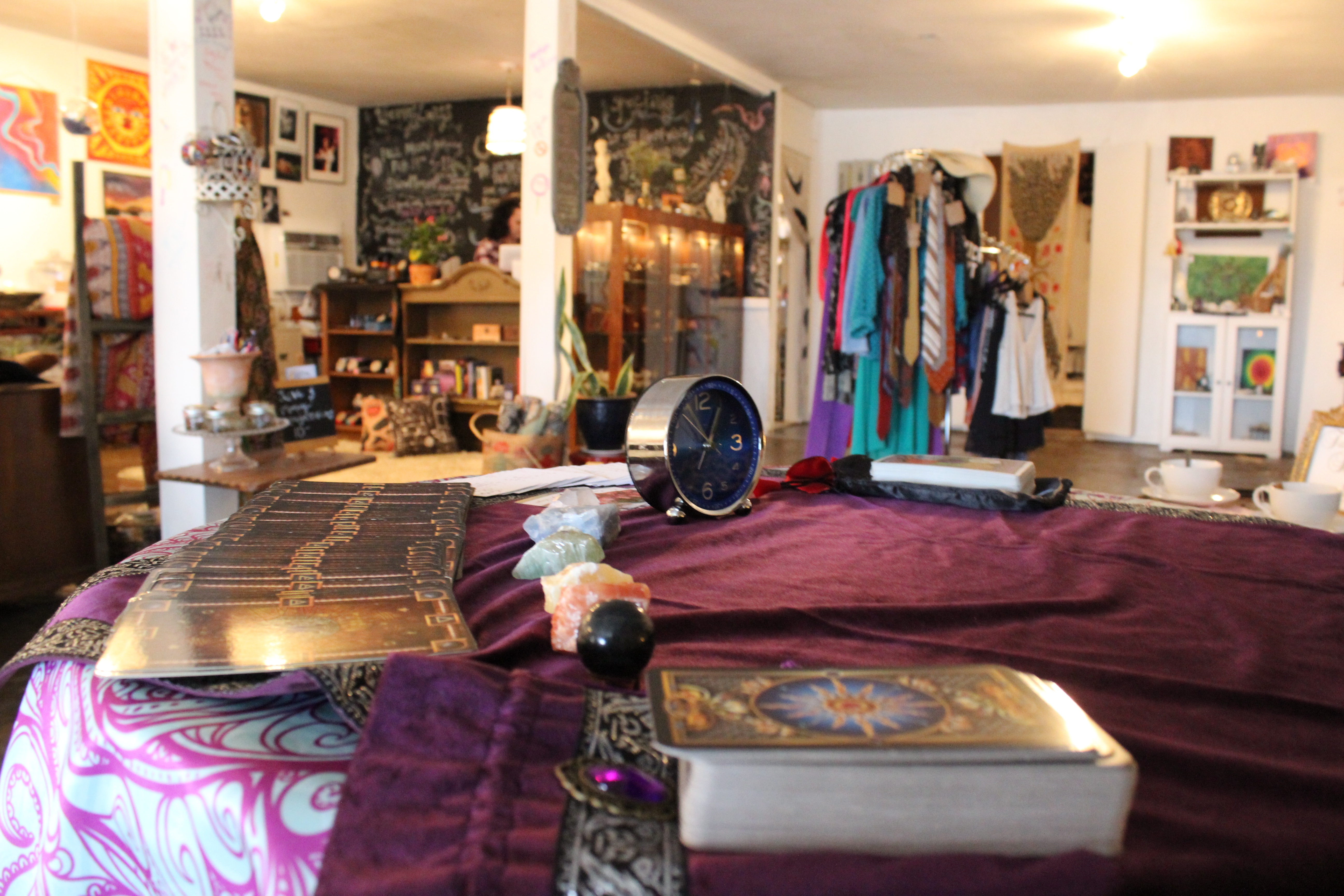 Tarot card readings offered every Wednesday at Maven's Moon.